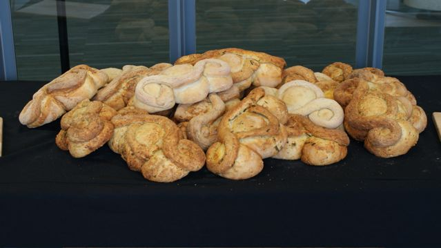 bread on display