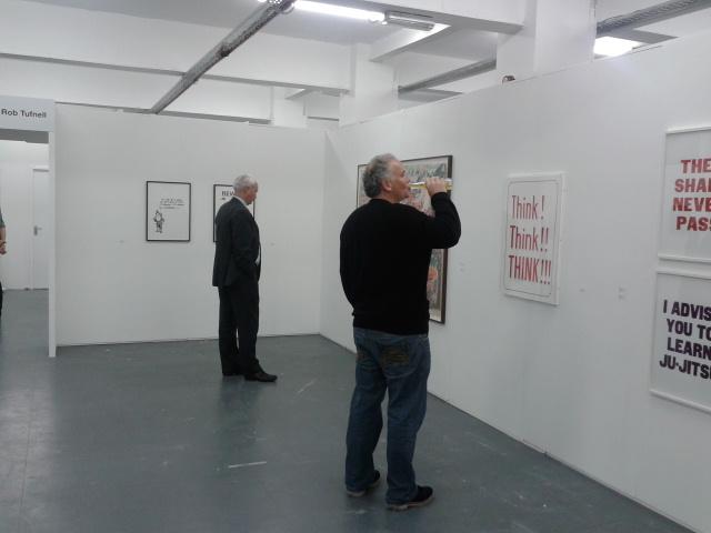 The manchester contemporary 2012 corridor8 for Bureau gallery manchester
