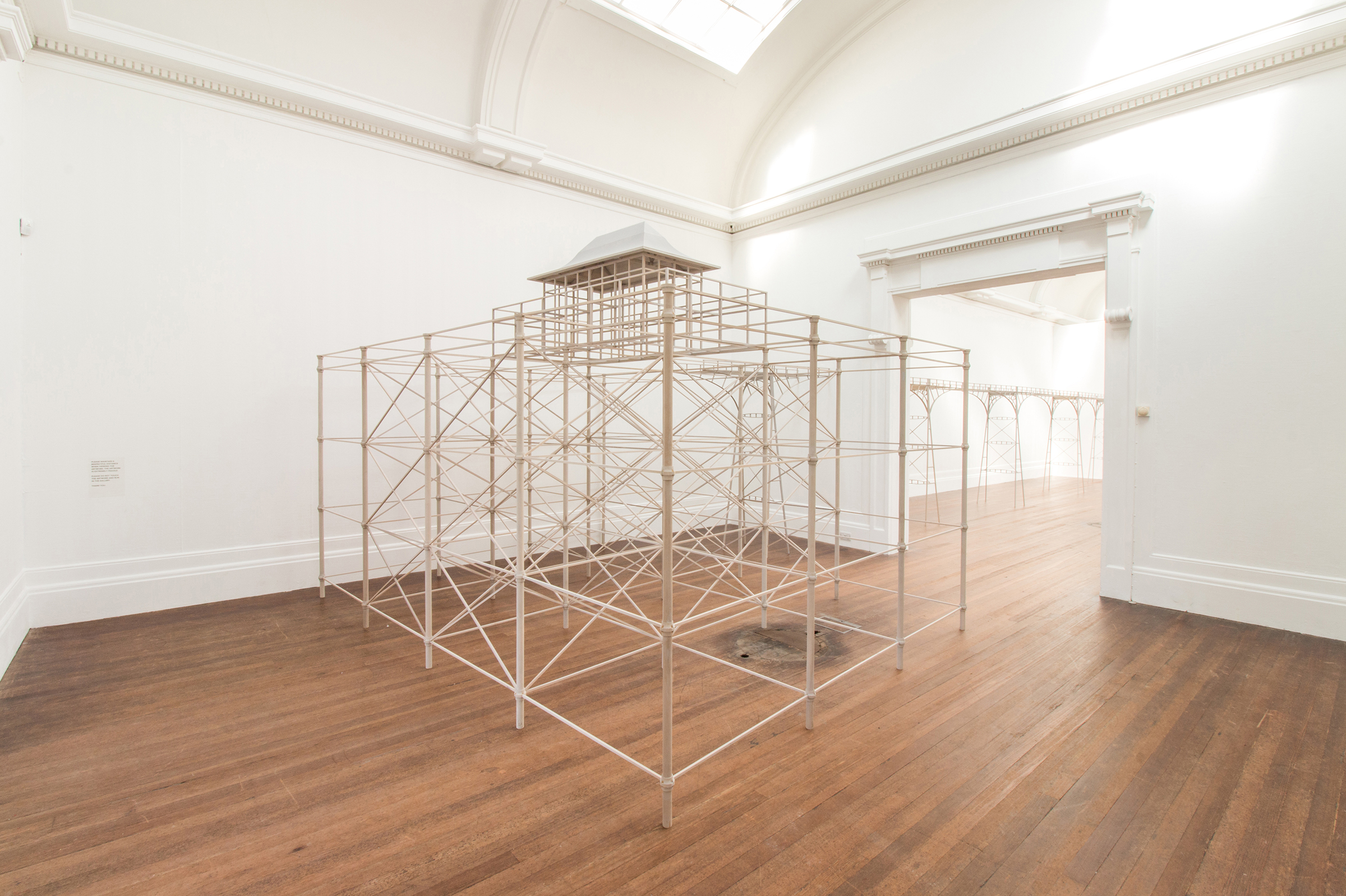 Roy Voss, The Way Things Are (installation shot) at Grundy Art Gallery, Blackpool
