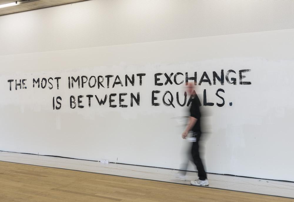 Tim Etchells TATE Modern London